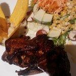 alitas en acarameladas en salsa thai