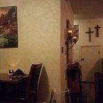 Interior of Jeffrey's dining room