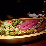 Incredible sushi that looks like a work of art. Best chefs anywhere.