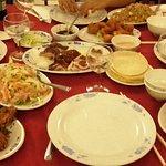 Cigales de mer au sel / Peckin duck / poisson cru à la chinoise