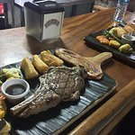 Cowboy and Ribeye....simply amazing! Easily one of the best steakhouses in costa rica!!!