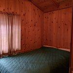 4-person cabin: bedroom