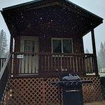 4-person cabin: outside