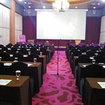 The Ballroom (Black Rose & Red Rose) before the seminar started