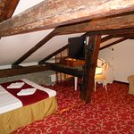 Room with beams