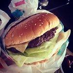 fresh made burgers