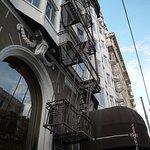 Façade de l'hôtel sur Sutter Street