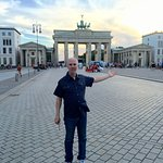 Brandenburg Gate right outside the Adlon