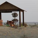 Cabana in the desert.