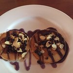 fell in love with there yummy pancakes