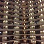 Nächtliche Ankunft im Hotel