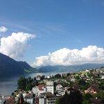 Hotel Alpenblick - Blick Richtung Luzern