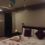 Artina Suites' deluxe room