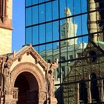 In the heart of Boston, between the Back Bay w Newbury Street and the South End is Copley Square