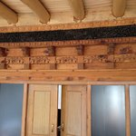 Carved wooden roofing..!!