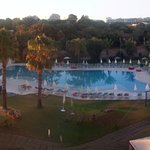 Panoramic vista do hotel