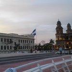 Centro Historico de Managua. Antigua Catedral, el palacio de la cultura