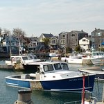 Rockport harbour view