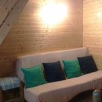 Sofá cama, muy cómodo de Ikea