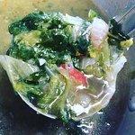 Escarole and kielbasa soup
