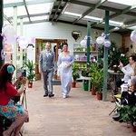 wedding at the Orchard Tea Room