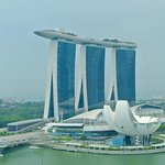 View from our Marina Bay view room