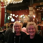 Kay & my wife Jeanne at Luigi's Pasta House