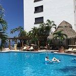 Family pool at Costa Sur Resort in Puerto Vallarta