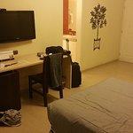 Interior de habitación simple estándar