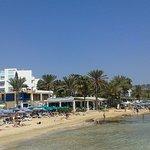 Okeanos hotel from Ayia Napa harbour