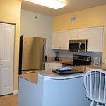 Kitchen in unit 2224