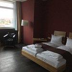 Mein Zimmer im Hotel: Executive Room mit viel Platz.
