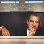Mural of Richard Nixon