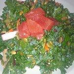 Kale salad - refreshing