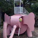 Pink Elephant for kids