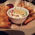 Perfect Fish and Chips, lunch portion