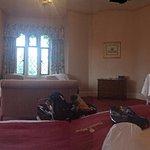 Bedroom in manor