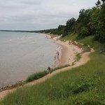 The walk next to Lake Superior