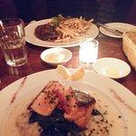 Salmon, Filet mignon