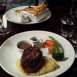 Tender Sirloin Steak with fresh veges