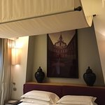 Studo Deluxe with canopied king-size bed & original beamed ceilings