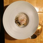 Seven course tasting menu, with wines. Memorable meal