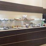 il banco dove servirsi per colazione