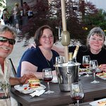Our patio is a great place to meet up with friends.