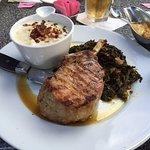 Berkshire Pork Rib Chop - Braised Kale was Awesome!