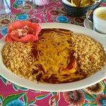 El Paso cheese enchiladas