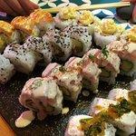 Combinado en Sushi Pop