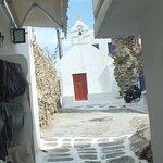Petite église à Mykonos