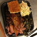 three meat platter