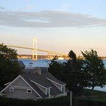 View from living room. The toll bridge takes you across from Jamestown into Newport.